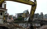 Các dự án thoát nước Hà Nội đều chậm tiến độ