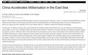 Báo Hàn Quốc: Trung Quốc đẩy mạnh quân sự hóa Biển Đông