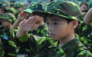 """200 """"chiến sĩ nhí"""" tham dự học kì quân đội"""
