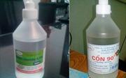 Trẻ viêm phổi do rửa mũi nhầm bằng cồn 90 độ