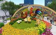 Nhiều nét mới đường hoa Nguyễn Huệ Tết Đinh Dậu 2017