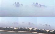 Trung Quốc: 'Lâu đài' bí ẩn xuất hiện giữa lưng chừng trời