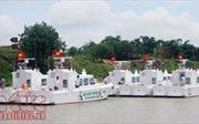 Bộ Tư lệnh Bộ đội biên phòng tiếp nhận xuồng tuần tra cao tốc MS-50S