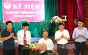 TTXVN thăm, tặng quà thương, bệnh binh Trung tâm Điều dưỡng thương binh Thuận Thành