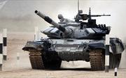 Xem cuộc đua xe tăng bắn súng Tank Biathlon 2017 tại Nga