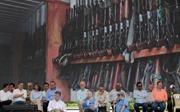 LHQ bắt đầu tiến hành tiêu hủy vũ khí của FARC
