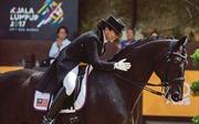 SEA Games 29: Mang bầu 5 tháng, nữ VĐV đua ngựa xuất sắc giành HCV