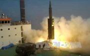Hình ảnh Hàn Quốc thử tên lửa đạn đạo mới, đánh trúng bất cứ nơi nào ở Triều Tiên