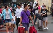 Người dân nườm nượp trở về Thủ đô sau kỳ nghỉ 2/9