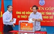Bộ Thông tin và Truyền thông quyên góp ủng hộ đồng bào bị thiệt hại do bão số 10