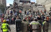 Cận cảnh sức tàn phá khủng khiếp của trận động đất kinh hoàng ở Mexico