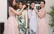 Thí sinh Miss Photo 2017 khoe đường cong quyến rũ với trang phục áo dài