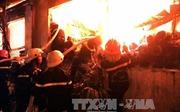 Cháy lớn tại gia đình kinh doanh lốp, hai người tử vong