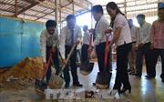 Hội người gốc Việt tại Campuchia xây trường học cho con em Việt kiều ở vùng xa