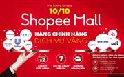"""Shopee sẽ ra mắt """"Shopee Mall"""" từ ngày 10/10"""