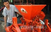 Chế tạo thành công máy thu hoạch mía có sức làm việc bằng 70 công lao động