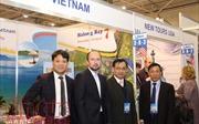 Gian hàng Việt Nam hút khách tại Triển lãm Du lịch Quốc tế Ukraine