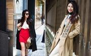 Người mẫu Quỳnh Châu nổi bật với street style tại Nhật Bản