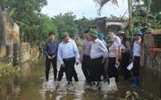 Phó Thủ tướng Phạm Bình Minh làm việc tại Thanh Hóa về công tác khắc phục thiệt hại do mưa lũ