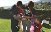 Vợ Lionel Messi báo tin vui của gia đình nhỏ