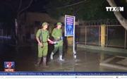 Cán bộ và phạm nhân trại giam số 5 (Thanh Hóa) bị cô lập do mưa lũ