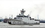Tàu Hải quân Indonesia thăm hữu nghị Thành phố Hồ Chí Minh
