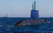 Đức thông qua thương vụ tàu ngầm với Israel