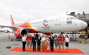 Vietjet Thailand nhận tàu bay mới mang biểu tượng du lịch Thái Lan 2018