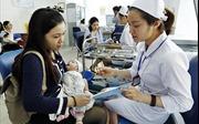 Tuần qua, Hà Nội gia tăng bệnh nhân mắc sởi, ho gà