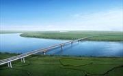 Tháng 12 sẽ hợp long cầu Hưng Hà nối hai tỉnh Hưng Yên với Hà Nam