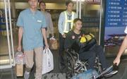 Ba thuyền viên Việt Nam được cứu tại Philippines đã về nước
