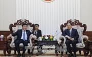 Lãnh đạo Lào đánh giá cao sự hợp tác giữa Bộ Nội vụ hai nước