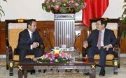 Phó Thủ tướng, Bộ trưởng Phạm Bình Minh tiếp Đại sứ Mông Cổ D.Bilegdorj
