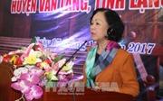 Trưởng ban Dân vận Trung ương dự Ngày hội Đại đoàn kết toàn dân tộc tại Lạng Sơn