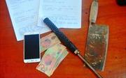 Khởi tố 3 đối tượng vào quán nhậu dùng dao đòi tiền bảo kê