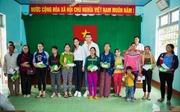 Tân hoa hậu Khánh Ngân trích 150 triệu tiền thưởng chia sẻ nỗi đau với bà con vùng lũ Phú Yên
