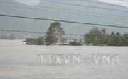 Lũ các sông từ Quảng Nam đến Phú Yên lên lại, đề phòng ngập lụt