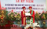 Trường Đại học Đà Lạt Trao trao tặng bằng Tiến sỹ danh dự cho nguyên Thủ tướng Hàn Quốc