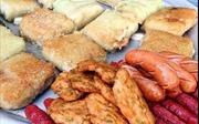 Bánh chưng rán chợ Đồng Xuân – Món 'tủ' mùa đông của người Hà Nội