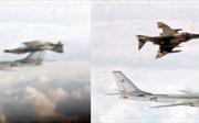 Bất ngờ với bức ảnh chiến đấu cơ Mỹ lộn nhào để máy bay Liên Xô chụp ảnh