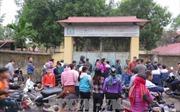 Vụ đổ lan can tại Trường Tiểu học xã Văn Môn: Khẩn trương ổn định công tác dạy và học
