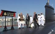 Hải quân Ấn Độ được trang bị tàu ngầm thế hệ mới