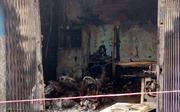 Giải cứu kịp thời 2 người trong căn nhà bốc cháy lúc rạng sáng