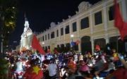 Hàng triệu người dân Thành phố mang tên Bác xuống đường ăn mừng U23 Việt Nam