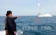 Lầu Năm Góc: Mỹ sẵn sàng đối phó với tên lửa đạn đạo từ tàu ngầm của Triều Tiên