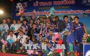 Chủ nhà Becamex Bình Dương vô địch giải bóng đá quốc tế BTV Cúp năm 2018