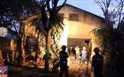 Cháy xưởng gỗ tại Đà Nẵng