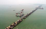 Trung Quốc xây cầu đường sắt qua 'Tam giác quỷ Bermuda châu Á'