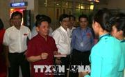 Kiểm tra việc phục vụ Tết tại Cảng Hàng không Quốc tế Tân Sơn Nhất