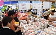 Lượng khách đến siêu thị tăng 3 lần trong ngày Tết